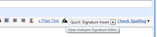 Open Autopen in Gmail