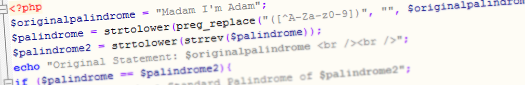 standard-palindrome-php