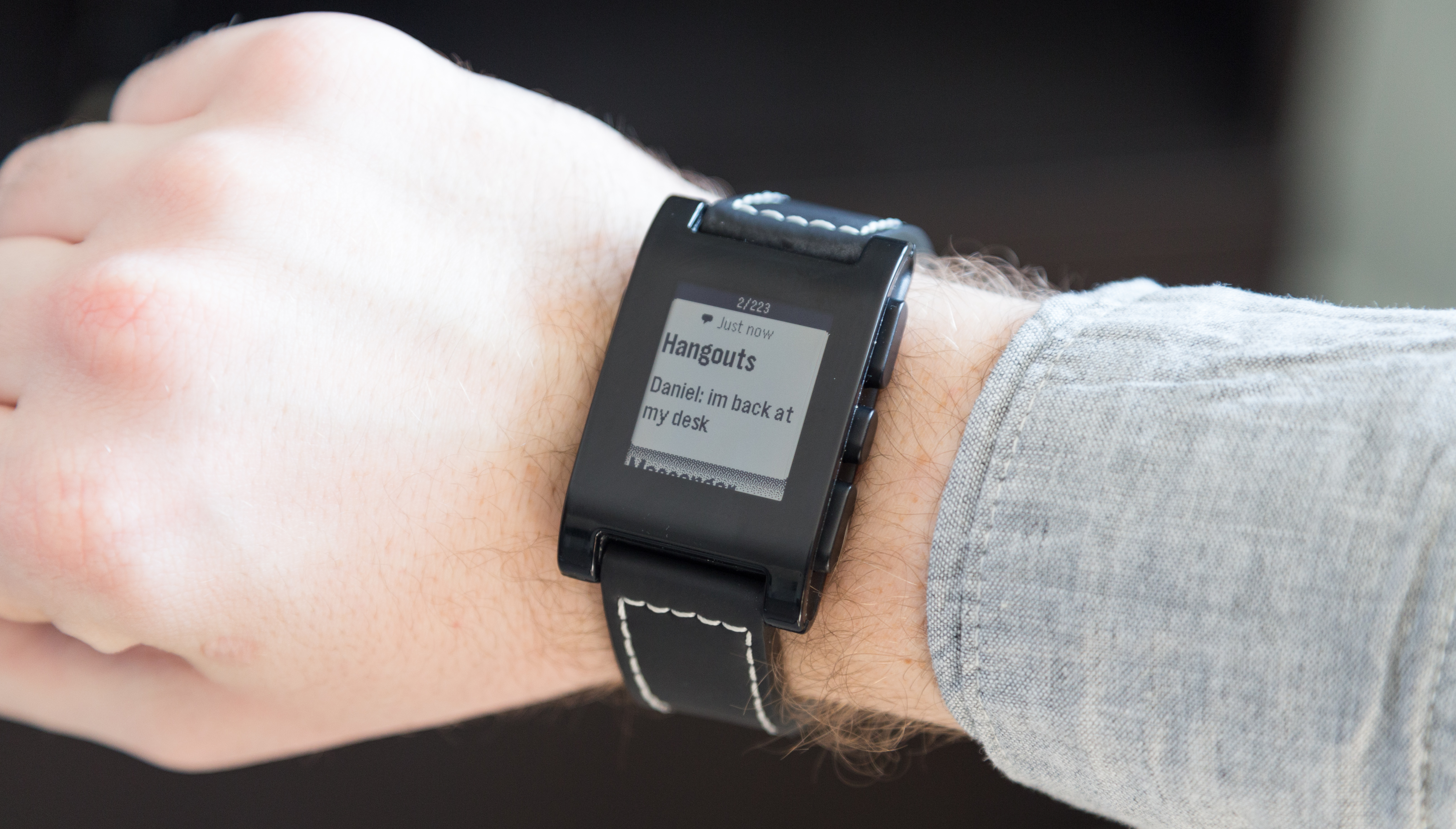 Pebble watch review drawne for Pebble watches
