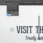 Creating a line in Photoshop