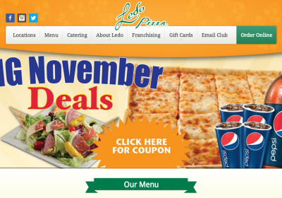 Ledo Pizza Screenshot 1